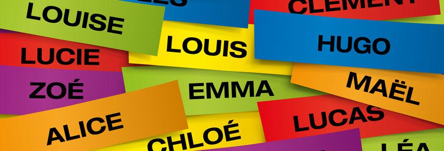 liste de prénoms
